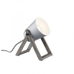 Moderne tafellamp Sacha, Grijs