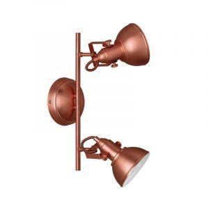 Industriele, metalen plafondlamp Lirik