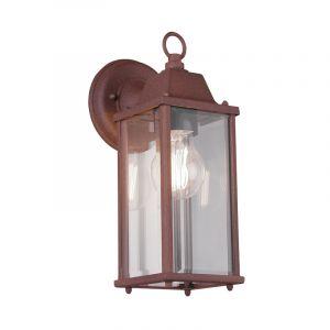 Industriële buitenlamp Celeste, Roestkleurig