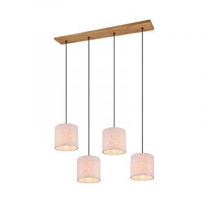 Vintage hanglamp Milco, nikkel