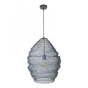 Zwarte Gaas hanglamp Lida