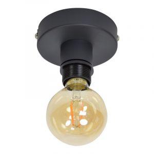 Zwarte plafondlamp Moda, Industrie