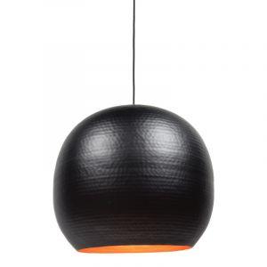 Zwarte, industriële hanglamp Feandro