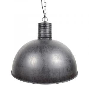 Zwarte, industriële hanglamp Fejay