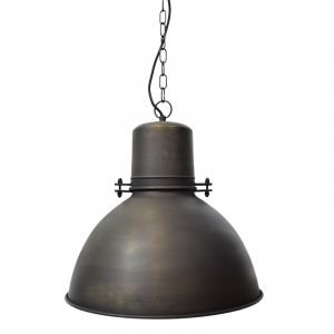 Donker roestige hanglamp Bradon