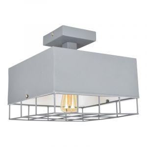 Plafondlamp Seldy, vintagegrijs