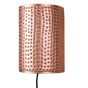 Koperen wandlampje Berky