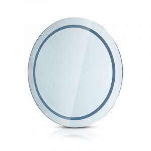 Design spiegel met verlichting, Mayte, anti-condens, IP44, LED met verstelbare lichtkleur, 25w.