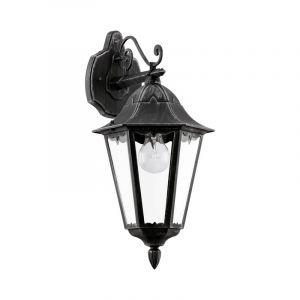 Lavin buitenlamp gegoten aluminium zwart zilver-patina