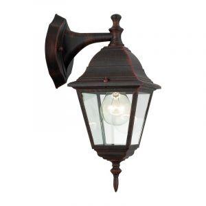 Roestbruine buiten wandlamp Adina