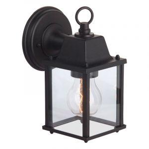 Zwarte buiten wandlamp Zenzi