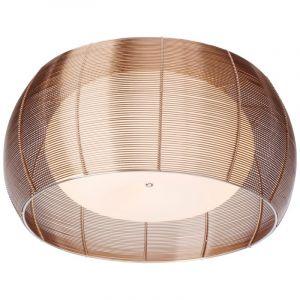 Moderne plafondlamp Amela, Brons en Chroom