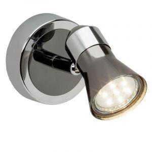 Chroom, Zwarte wandlamp Aaradhya