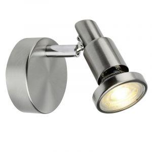 Mat chroom, Chroom wandlamp Avantika