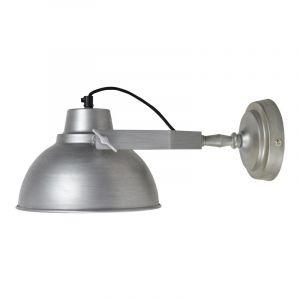 Zinken, industriële wandlamp Ferres