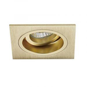 Gouden inbouwspot Milan, metaal