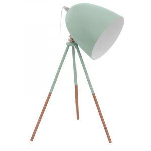 Brocant Retro Moderne Groenee tafellamp Khaoula
