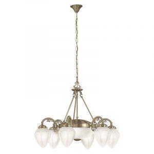 Safouane hanglamp klassiek 8 lampjes