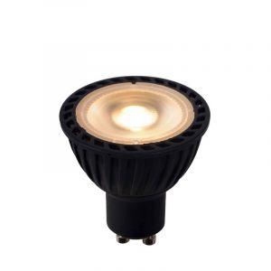Zwarte GU10 LED lamp, 5 Watt, Dim to warm