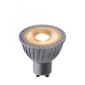 Grijze GU10 LED lamp, 5 Watt, Dim to warm