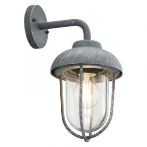 Industriële buitenlamp Trevor, grijs
