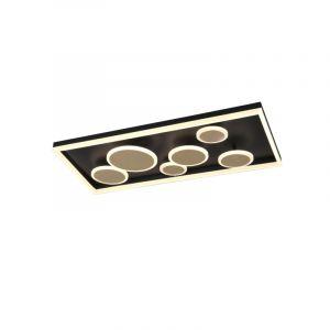 Moderne plafonniere Emely, goud, 45w geintegreerd LED