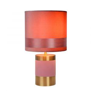 Roze Tafellamp Extravaganza Frizzle, metaal