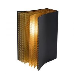 Zwarte Tafellamp Extravaganza Livret, metaal
