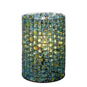 Transparante Tafellamp Extravaganza Marbelous, glas