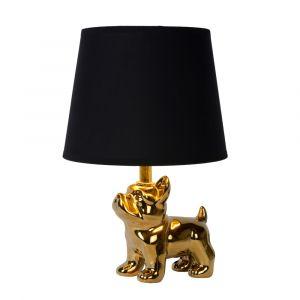 Gouden Tafellamp Extravaganza Sir Winston, steen