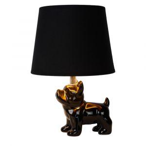 Zwarte Tafellamp Extravaganza Sir Winston, steen