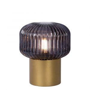 Gouden Tafellamp Jany, glas