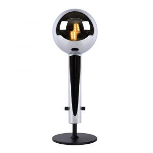 Zwarte Tafellamp Lone, glas