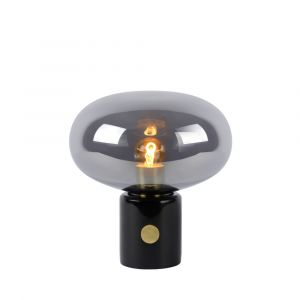 Grijze Tafellamp Charlize, marmer