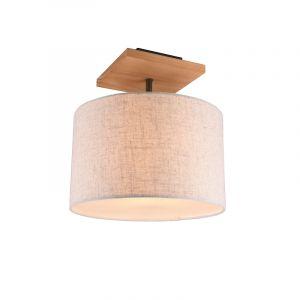 Moderne plafondlamp Milco, grijs
