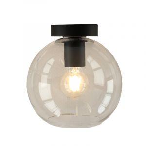 Transparante design plafondlamp Giada, open bol