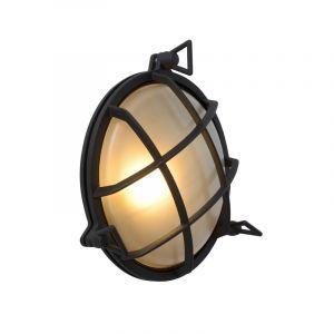 Zwarte buitenlamp Dudley, aluminium, IP65