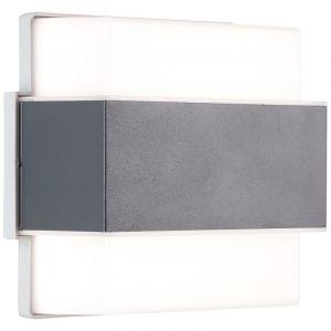 Moderne buitenlamp Birol, Metaal, 7w neutraal wit LED