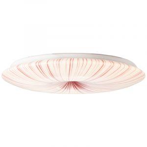 Klassieke plafonniere Gwenda, Kunststof, 60w LED met instelbare lichtkleur