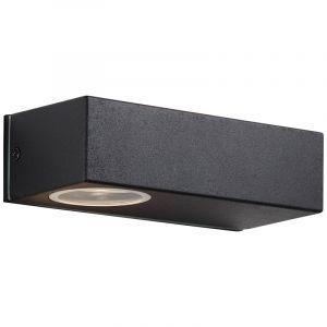 Moderne buitenlamp Samah, Metaal, 10w warm wit LED
