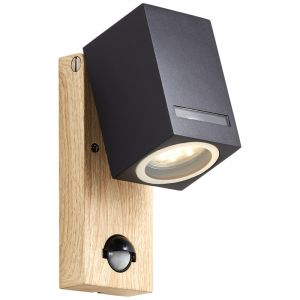 Moderne buiten wandlamp met bewegingssensor Charis, Metaal