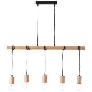 Landelijke hanglamp Carry, Metaal
