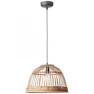 Landelijke hanglamp Luite, Rotan