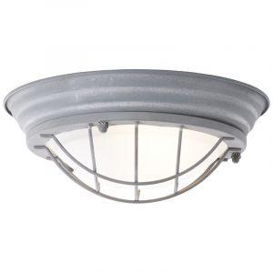 Industriële, Landelijke, Brocante wandlamp Kete - Beton Grijs