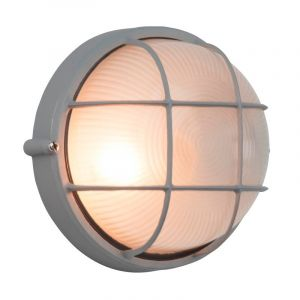 TitaanGrijze buiten wand- & plafondlamp Tirsa