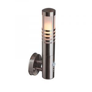 Chroom buiten wandlamp Toon wandlamp - Met bewegingssensor