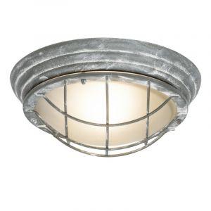 Landelijke, Industriële Buitenlamp Jaylinn-Zoë - Beton Grijs