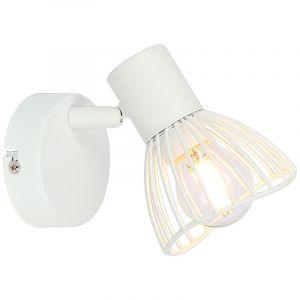 Moderne wandlamp Ivy, Wit