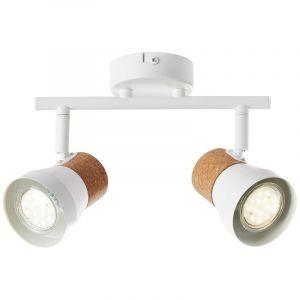 Moderne plafondlamp Charlotte, Mat Wit