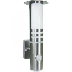 Sensor LED buiten wandlamp Regret, RVS